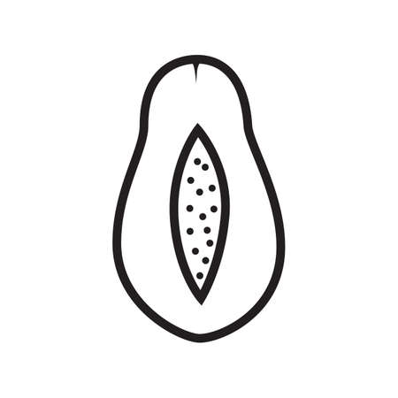 papaya: sliced papaya