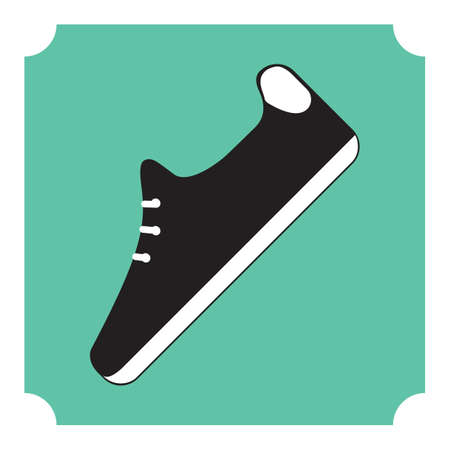 foot gear: golf shoe