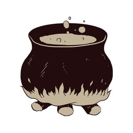 pócima: poción en el bote