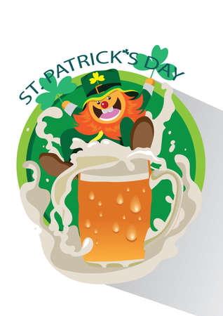 patrick: saint patrick day card