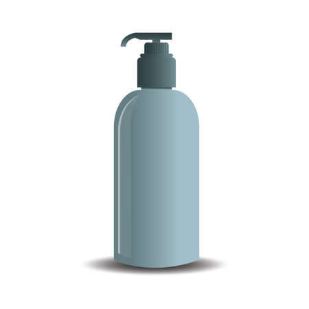 toiletry: soap dispenser Illustration