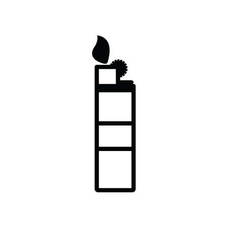 starter: lighter silhouette Illustration
