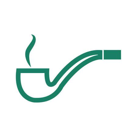 habit: smoke pipe
