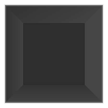 black picture frame: black picture frame