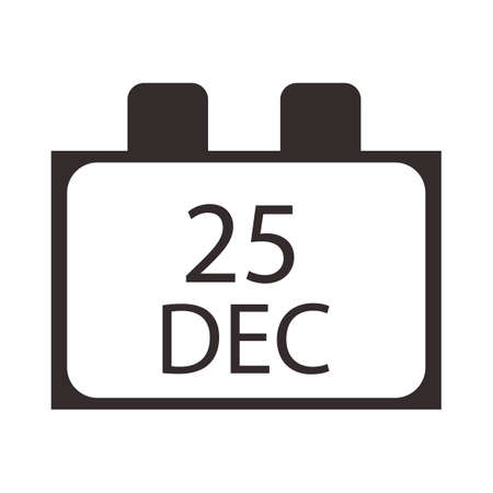 the twenty fifth: twenty fifth december calender