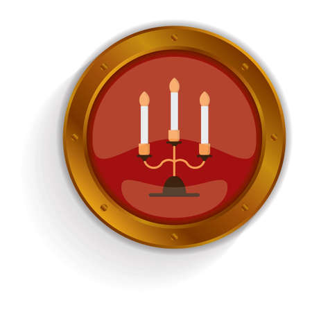 burning: burning candles button