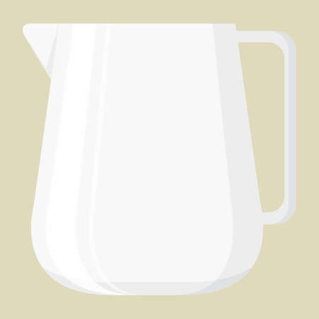 pitcher: milk pitcher