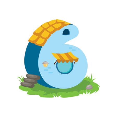 integer: number six