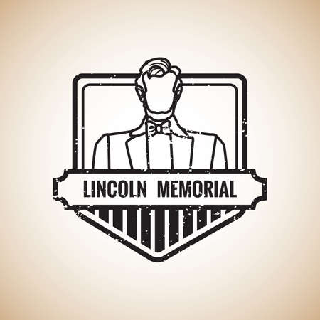 lincoln: lincoln memorial label