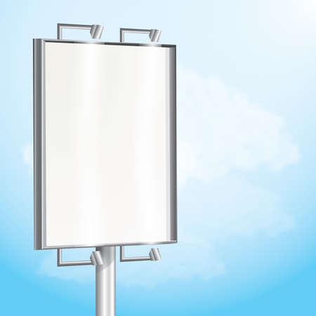 signage outdoor: billboard Illustration