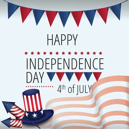 fourth of july: happy fourth of july