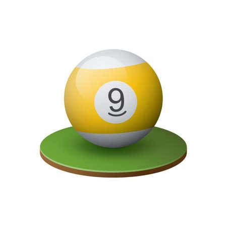cue sports: billiard ball