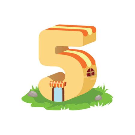 integer: number five