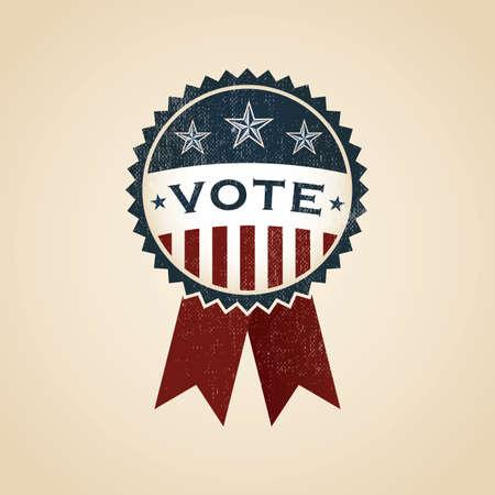 vote: vote badge