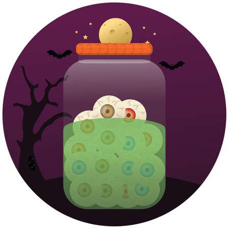 eyeballs: eyeballs in jar