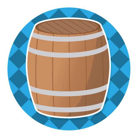 cylindrical: barrel Illustration
