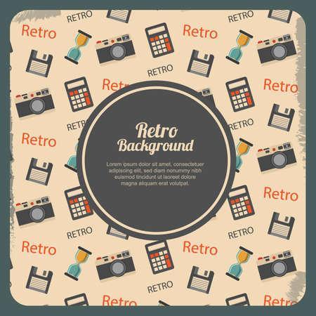 copyspaces: retro background