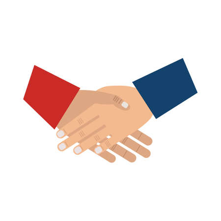 president of the usa: shaking hands