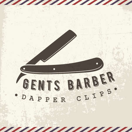 shaving blade: gents barber