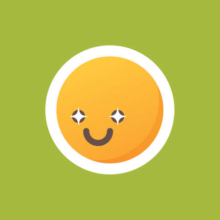twinkle: emoticon with twinkle in eyes