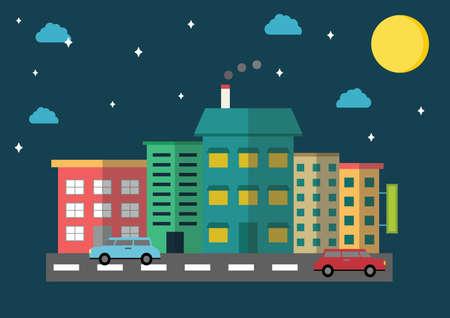 moon  metropolis: cityscape