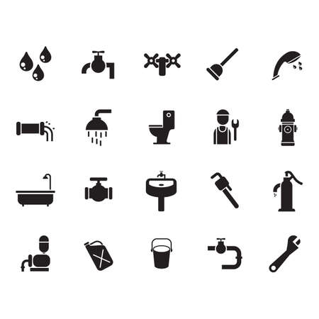 related: water related icons set