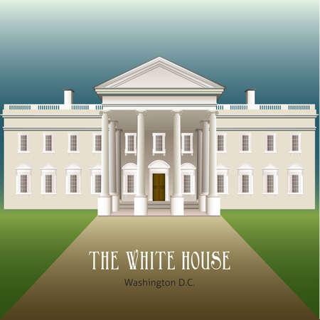 el edificio de la Casa Blanca