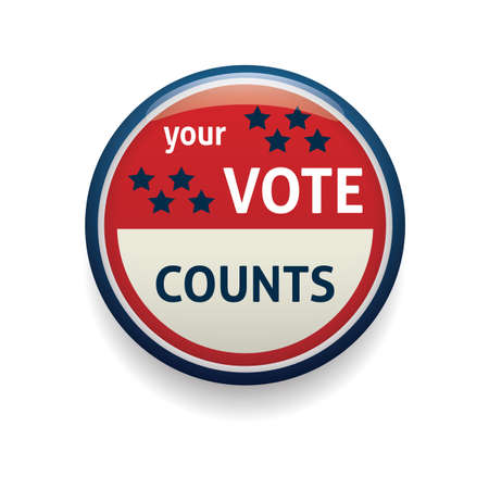 your: your vote counts badge