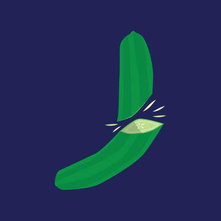 cucumber: sliced cucumber