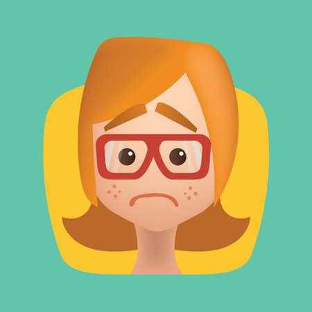 girl feeling dejected