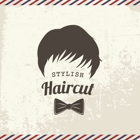 haircut: stylish haircut