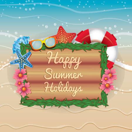 happy holidays: happy summer holidays