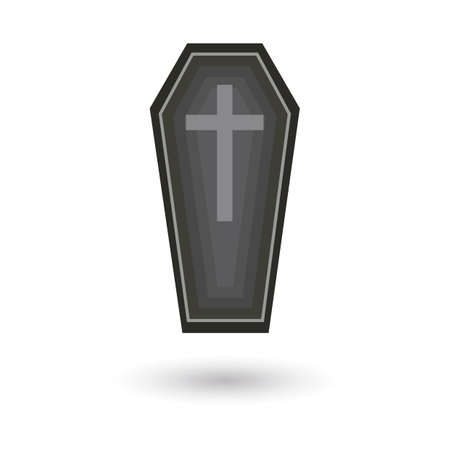graves: coffin Illustration