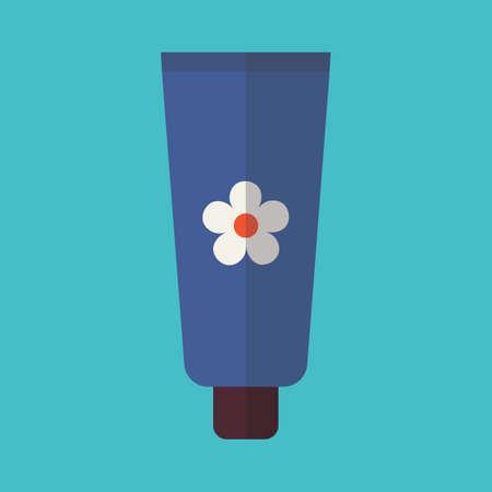moisturizer: moisturizer bottle and cream