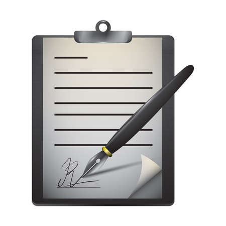 writting: document on clipboard
