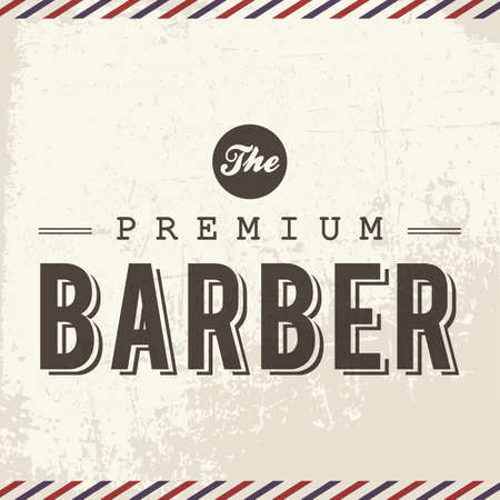 barber: the premium barber Illustration