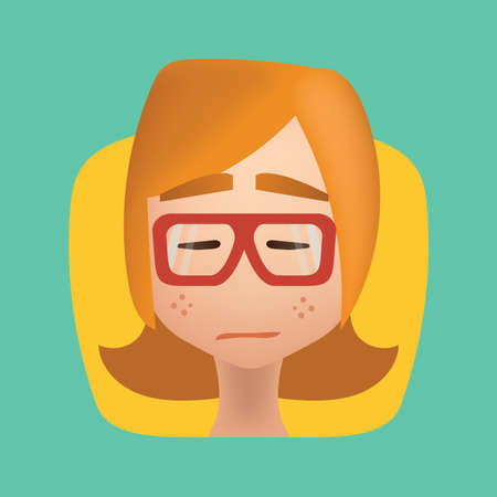 girl: girl feeling disappointed