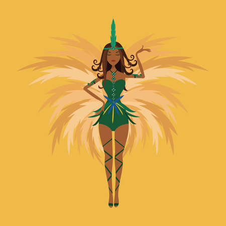 carnival costume: carnival dancer