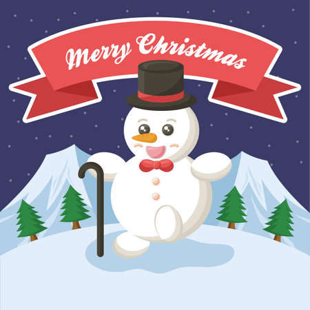 x mas card: merry christmas card design