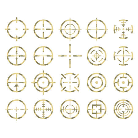 set of crosshairs