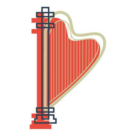 harp Illustration