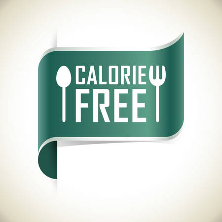 the calories: calories free label