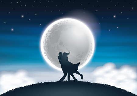 fantasy: love fantasy Illustration