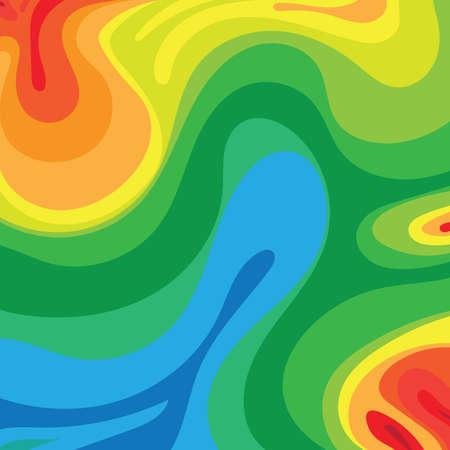rainbow abstract: abstract rainbow background