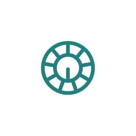knobs: oscillator knobs icon