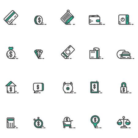 house exchange: money icons