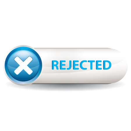 button: rejected button