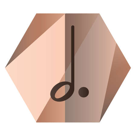 minim: dotted minim note for music