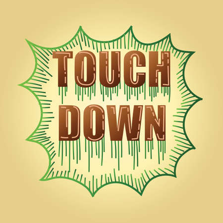 touchdown: football strategy text touchdown