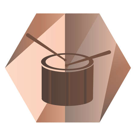 beating: drum for music Illustration